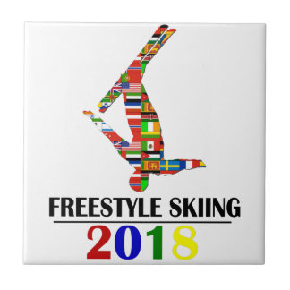 2018 FREESTYLE SKIING TILE