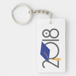 2018 Graduation Key Chain
