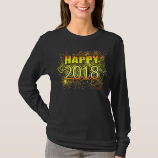 2018 Happy New Years Eve Party Celebration T-Shirt