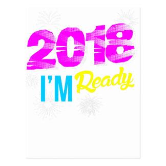 2018 I'm Ready Postcard