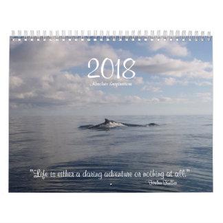 2018 Inspirational Calendar Photos with Quotes
