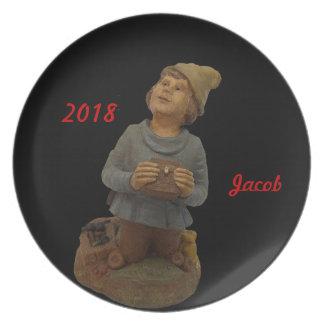 2018 JACOB MELAMINE PLATE