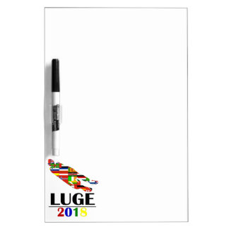 2018 LUGE DRY ERASE BOARD