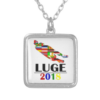 2018 LUGE SILVER PLATED NECKLACE