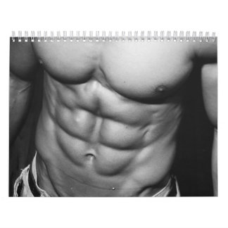 2018 Male Fitness Model & Bodybuilding Calendar