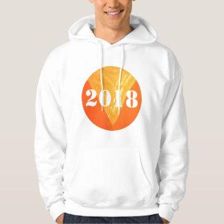 2018 Men's Basic Hooded Sweatshirt Enjoy the comfo
