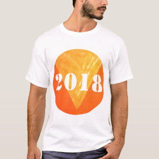 2018  Men's Basic T-Shirt Comfortable, casual and