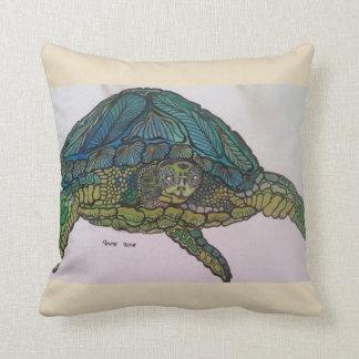 2018 metallic turtle cushion