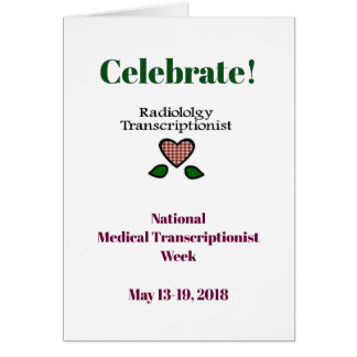 2018 National MT Week Radiology MT Card