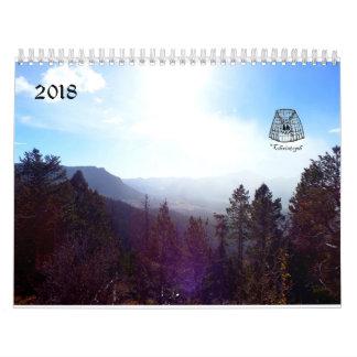 2018 Nature Photo Wall Calendar