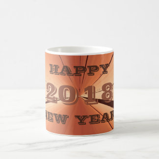 2018 New Years Day Copper Coffee Mug by Janz