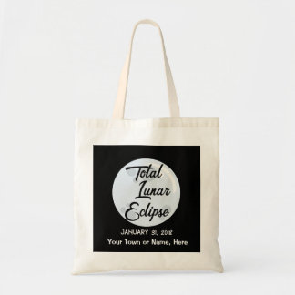 2018 Personalized Lunar Eclipse Tote Bag
