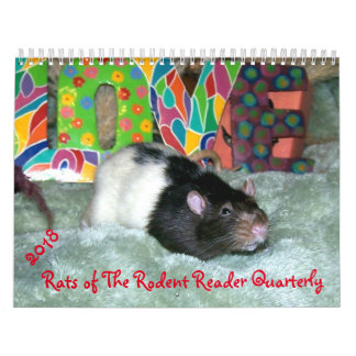 2018 RATS of the Rodent Reader Calendar