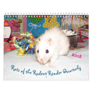 2018 RATS of the Rodent Reader Calendar B