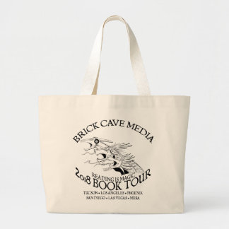 2018 Reading is Magic Book Tour Large Tote bag