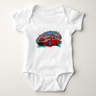 2018_Red_WRX Baby Bodysuit