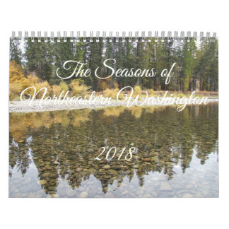 2018 Seasons of Northeastern Washington Calendar