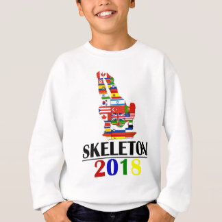 2018 SKELETON SWEATSHIRT