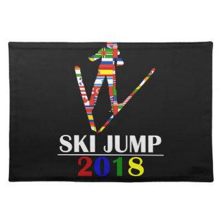 2018 SKI JUMP PLACEMAT