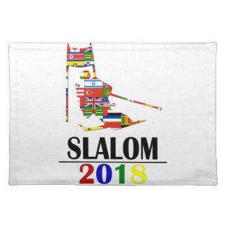 2018 SLALOM PLACEMAT