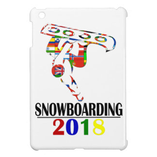 2018 SNOWBOARDING iPad MINI CASE