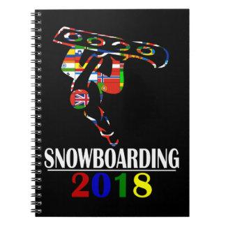 2018 SNOWBOARDING NOTEBOOK