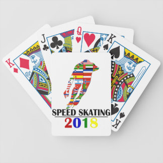 2018 SPEED SKATING BICYCLE PLAYING CARDS