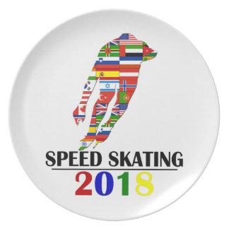 2018 SPEED SKATING PLATE
