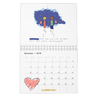 2018 The School of The Livingness Calendar