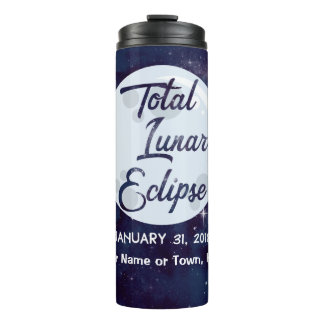 2018 Total Lunar Eclipse Travel Tumbler