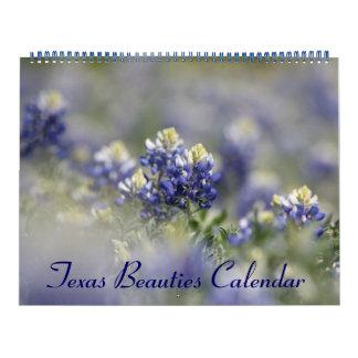 2018 Wild Texas Bluebonnets Wall Calendar
