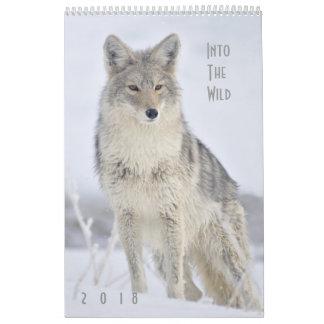 2018 Wildlife Wall Calendar - Into the Wild