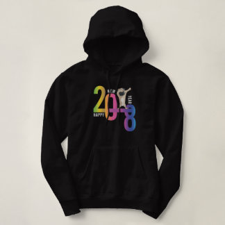 2018, year of the dog, Chihuahua, funny, Holiday, Hoodie