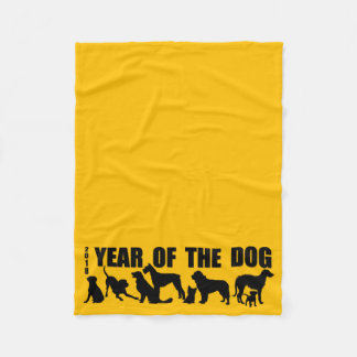 2018 Year of The Dog Choose your color Blanket