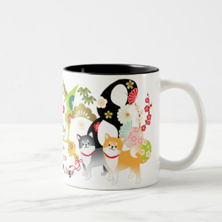 2018 Year of the Dog Shiba Dogs Mug