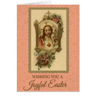 201 Happy Joyful Easter Sunday Greeting Card