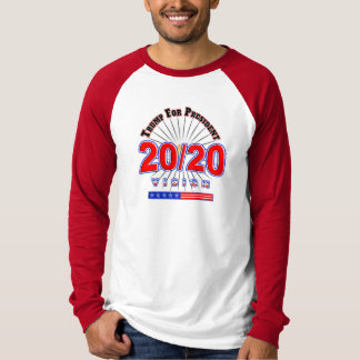 2020 Re Elect President Trump 45 Election T-Shirt