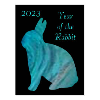 2023 Year of the Rabbit Postcards