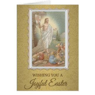 205 Happy Joyful Easter Sunday Greeting Card