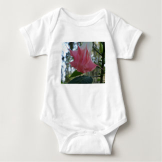 205a Angels trumpet pink close Baby Bodysuit