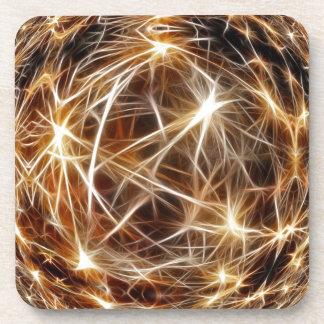 209 DIGITAL STARS backgrounds space stars wallpape Beverage Coasters