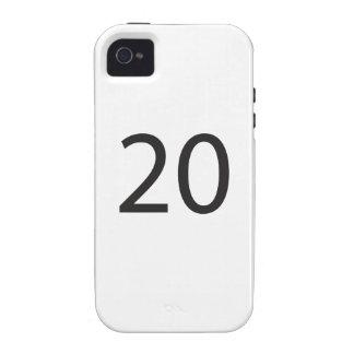 20.ai Case-Mate iPhone 4 cover