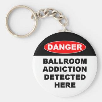 20. Ballroom Addictions Keychain