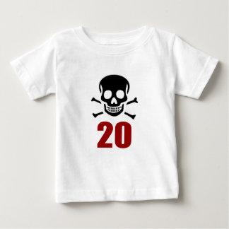 20 Birthday Designs Baby T-Shirt