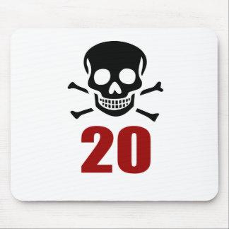 20 Birthday Designs Mouse Pad