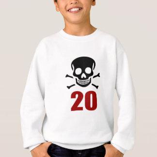 20 Birthday Designs Sweatshirt
