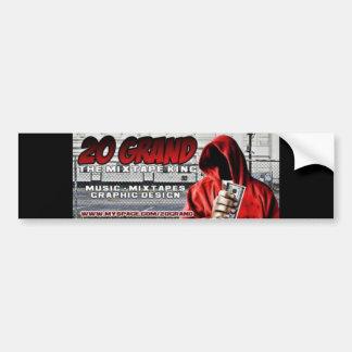 20 Grand Bumper Sticker