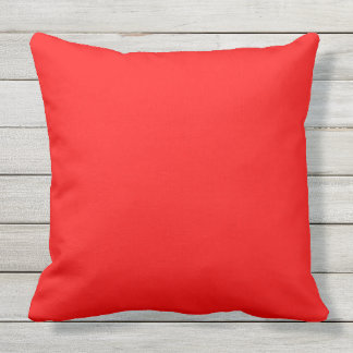 20 inch Outdoor Accent Pillow Salsa Red