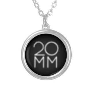 20 MM ROCKS PERSONALIZED NECKLACE