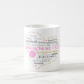 20 Reasons we Love you on Mother's Day. Coffee Mug